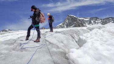 Tausende von Seismometern auf einem Kabel